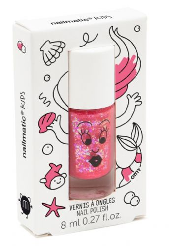 Sissi (Glitter Pink) - nailmatic® kids - water based nail polish